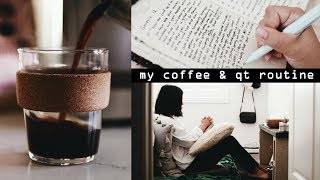 Download ☕️My Morning Coffee & Quiet Time Routine ⛅️#cozyu Video
