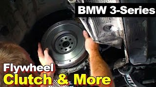 Download 1998 BMW E36 3-series Clutch Dual Mass to Single Mass Flywheel Rear Main Seal Exhaust & Driveshaft Video