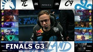Download Team Liquid vs Cloud 9 - Game 3 | Grand Finals S8 NA LCS Summer 2018 | TL vs C9 G3 Video