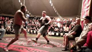 Download Boom! Boom Butterbean! Brophy Tent Fight BRAWL Burnett Heads 2015 Video