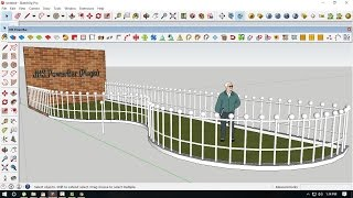 copy array (in Sketchup) part 1 Free Download Video MP4 3GP
