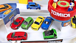 Download Best Toddler Learning Cars Trucks Colors for Kids #1 Teaching Colours Tomica Auto Parking Garage Video