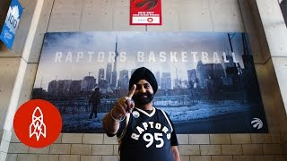 Download This Toronto Raptors Super Fan Hasn't Missed a Game in 20 Years Video