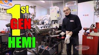 Download Tiny Old HEMI - First Generation 241 Hemi on DYNO Video