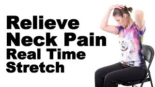 Download Relieve Neck Pain with This Real Time Levator Scapulae Stretch - Ask Doctor Jo Video