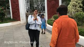 Download Kiran Bedi welcomes Visitors at RajNivas Video