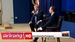 Download U.S. Pres. Donald Trump emphasize China's role in reining in N. Korea Video