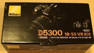 Download Unboxing the Nikon D5300 Camera Video