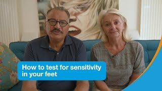 Download How to test your feet for sensitivity   Diabetes UK Video