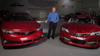 Download What's the Difference Between a Racecar and a Streetcar   NASCAR Automotive Technology Series Video