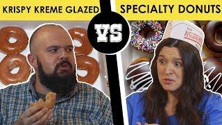Download Krispy Kreme: Glazed Donut vs. Specialty Donut - Back Porch Bickerin' Video