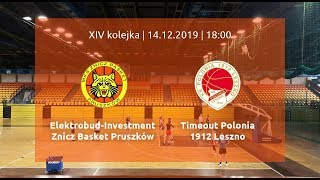 Download Sezon 2019/2020: Elektrobud-Investment ZB Pruszków - Timeout Polonia 1912 Leszno Video