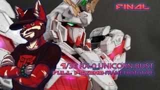 Download RX 0 Unicorn Gundam Bust Final Build! Video