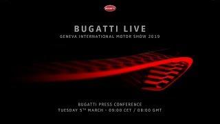 Download Bugatti Press Conference - Geneva International Motor Show 2019 Video