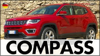 Download 2017 Jeep Compass 1.4 Limited 4x4 170 PS | Test | Fahrbericht | Review | Deutsch Video