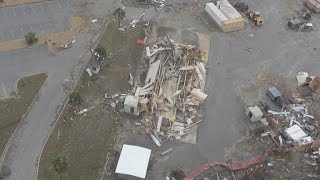 Download Damage at Tyndall Air Force Base from Hurricane Michael Video