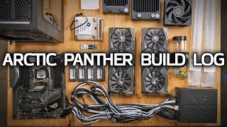 Download GLORIOUS Custom Watercooled PC! Arctic Panther Build Log Part 1 Video