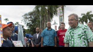 """Download """"Salvar o Pacífico é salvar o planeta inteiro"""", diz António Guterres Video"""
