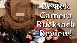 Download Bestek Caden BTDB03 Brown Canvas Camera Bag / Rucksack Review Video