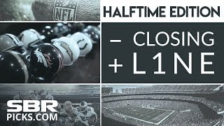 Download The Closing Line | Live NFL Updates At The Half With Gabe & Donnie Video