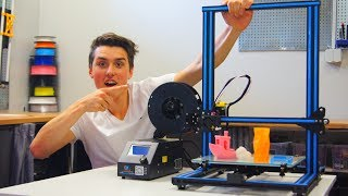 Download Creality CR-10 Full Review - BEST 3D PRINTER!!! Video