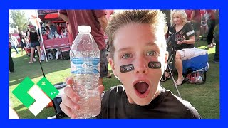 Download BOTTLE FLIPPING ON THE GREAT LAWN (Day 1667) Video