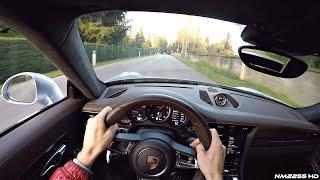 Download POV Drive in a 2016 Porsche 991.2 Turbo S - OnBoard Engine Sound Video