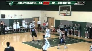 Download Colby-Sawyer vs Castleton - Men's Basketball - 02/16/13 Video