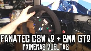 Download Fanatec CSW v2 + BMW GT2 Rim || Primeras vueltas Video