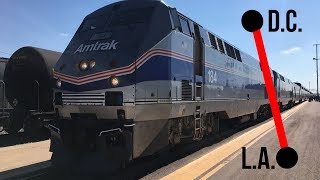 Download ACROSS THE COUNTRY BY AMTRAK! DC-LA! Video