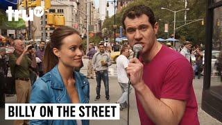 Download Billy on the Street - Olivia Wilde Is Pretty and You're All Disgusting! Video