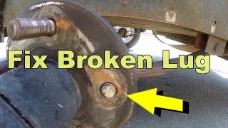 Download How To Replace Broken Lug Bolt In 5 Minutes Video