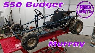 Download $50 Murray Junk Yard Go Kart ~ Lives & Dies Video