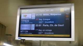 Download Arrival at Lisbon Airport Lisbon Portugal Video