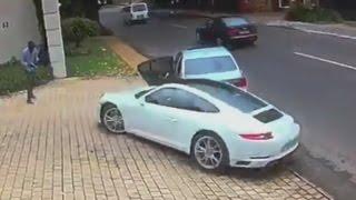 Download Querían robarle su Porsche y así fue su reacción Video