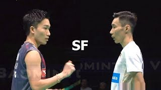 Download Lee Chong Wei vs Kento Momota Badminton Asia Championships 2018 Semi Final Video