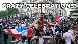 Download 2018 WORLD CUP FINAL FRANCE vs. CROATIA IN PARIS! CRAZY CELEBRATIONS! Video