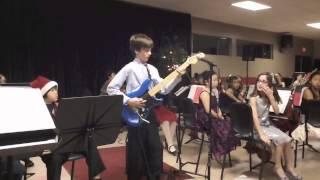 Download 10 yr old playing ″Eruption″ by Eddie VanHalen Video