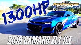 Download Redline Motorsports 1300 HP 2018 1LE ZL1 Camaro Video