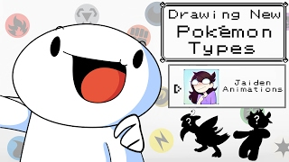 Download Drawing New Pokemon Types w/Jaiden Animations Video