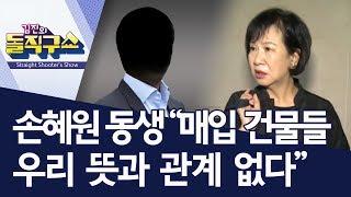 "Download 손혜원 동생 ""매입 건물들 우리 뜻과 관계 없다"" | 김진의 돌직구쇼 Video"