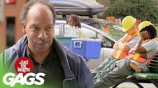 Download Lazy City Workers Prank Video
