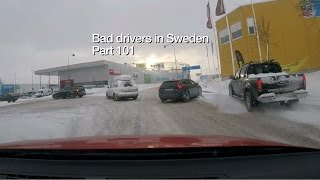 Download Bad Drivers in Sweden #101 Winter darkness, cheaters and Umeå! Video