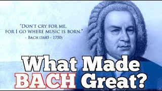 Download What Made Bach Great? Johann Sebastian Bach 1685-1750 (edit) Video