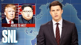 Download Weekend Update on Kim Jong-un Meeting with Donald Trump - SNL Video