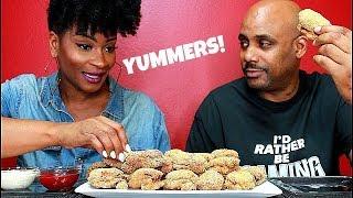 Download DEEP FRIED STUFFED SHRIMP! MUKBANG EATING SHOW! Video