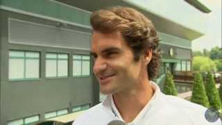 Download Roger Federer takes the Wimbledon fan quiz Video