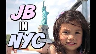 Download JB GETS TO SEE THE STATUE OF LIBERTY IN NY! - ItsJudysLife Vlogs Video