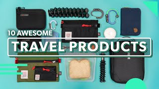 Download 10 Awesome Travel Products | Must Have Travel Gear & Accessories In 2019 Video