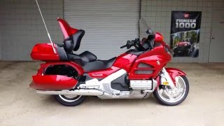 Download 2016 Honda Gold Wing Walk-Around Video | Candy Red GL1800 Touring Motorcycle Video